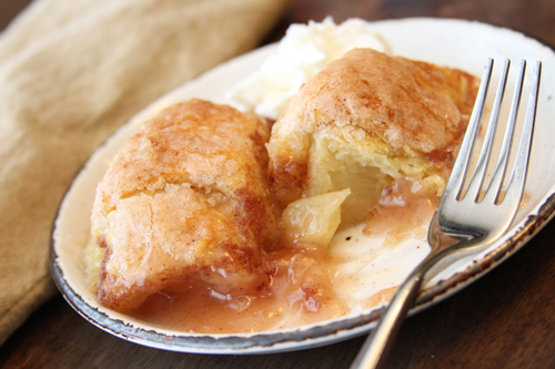 Hot Apple Dumplings