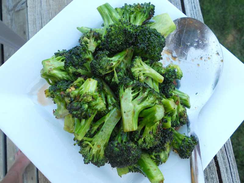 Sweet & Spicy Broccoli