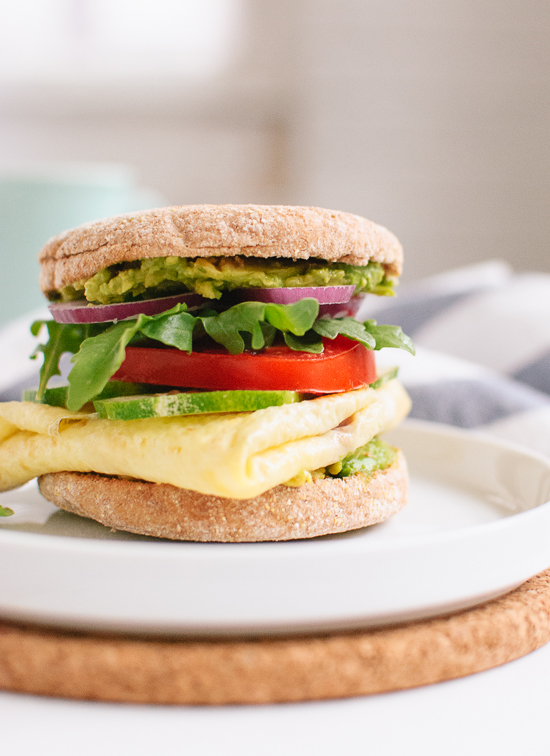 Avocado egg and english muffin sandwich free recipe network avocado egg and english muffin sandwich forumfinder Gallery