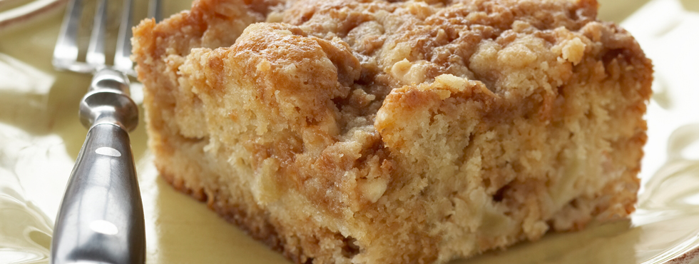 Amish Apple Cake With Caramel Sauce Recipe