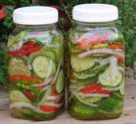 Cucumber Salad in a Jar