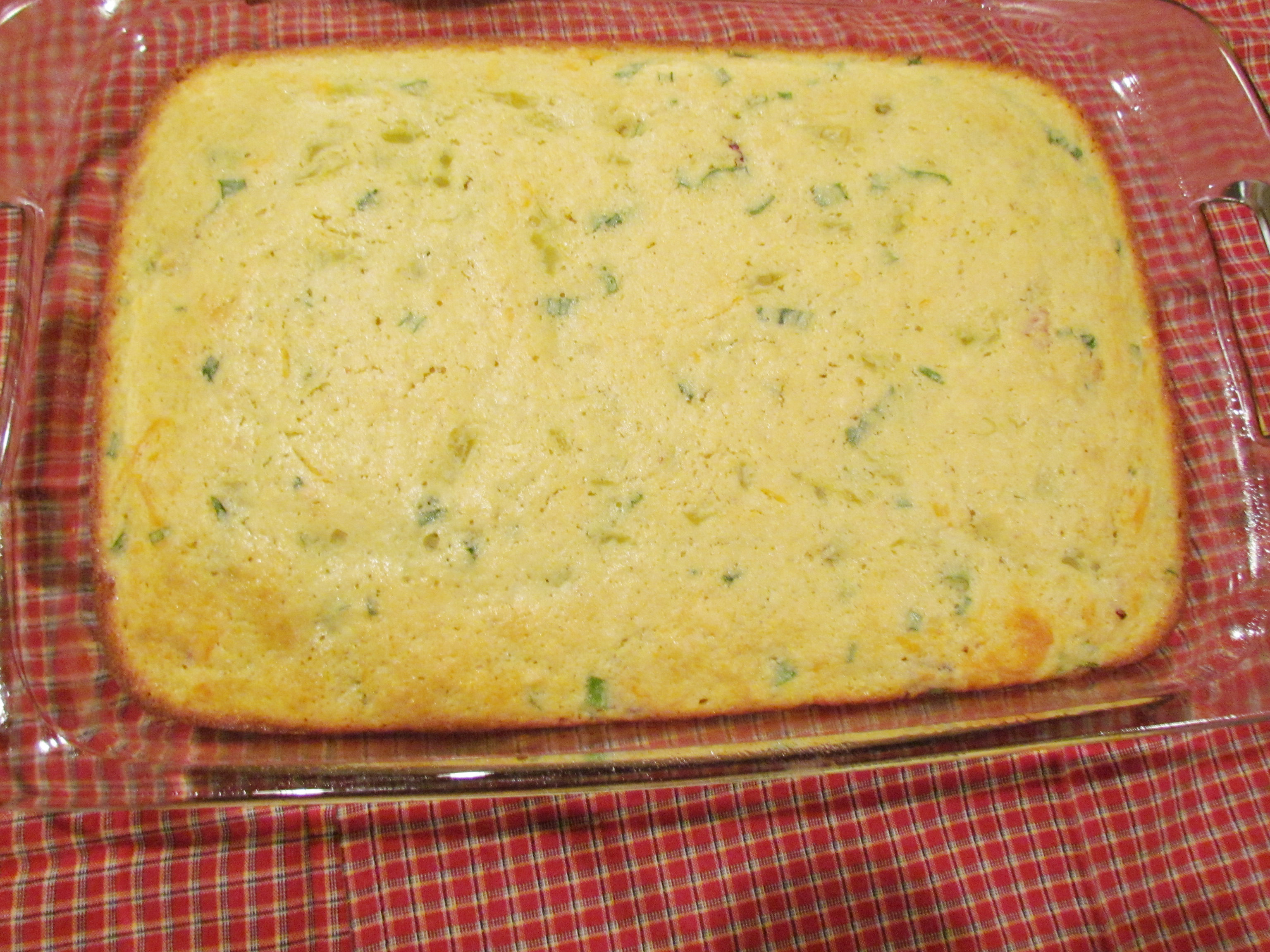 Bacon Green Onion Cornbread