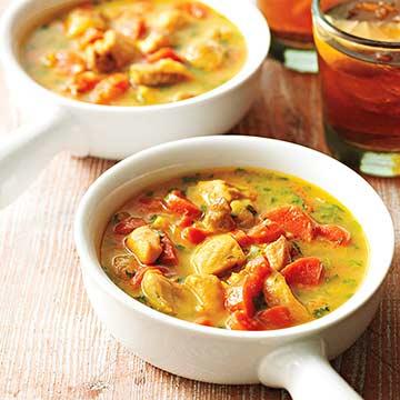 Coconut-Chicken Curry Stew