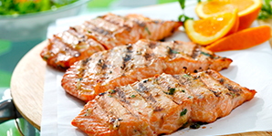 ASIAN ORANGE-SOY MARINATED SALMON