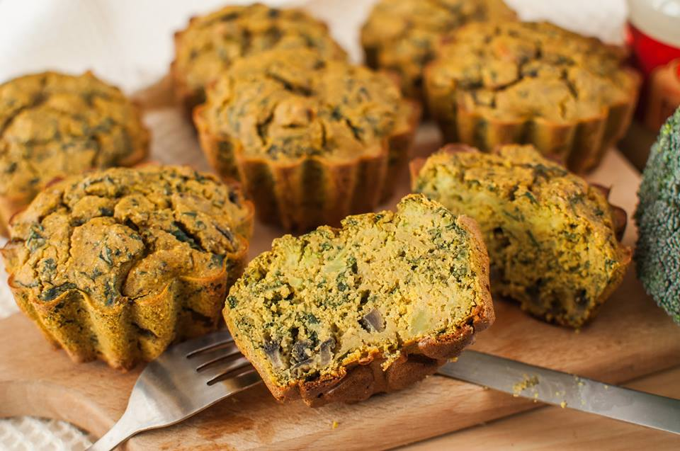 "Vegan ""egg"" Muffins"