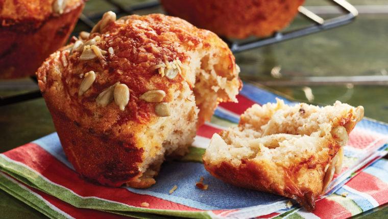 Turkey & Cheddar Cheese Muffins