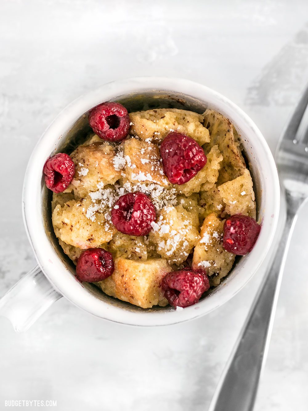 5-Minute Microwave French Toast Mug