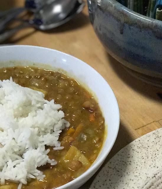 Instant Pot Mediterranean Lentil Soup