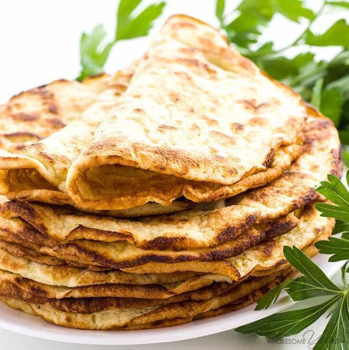 3-Ingredient Coconut Tortillas
