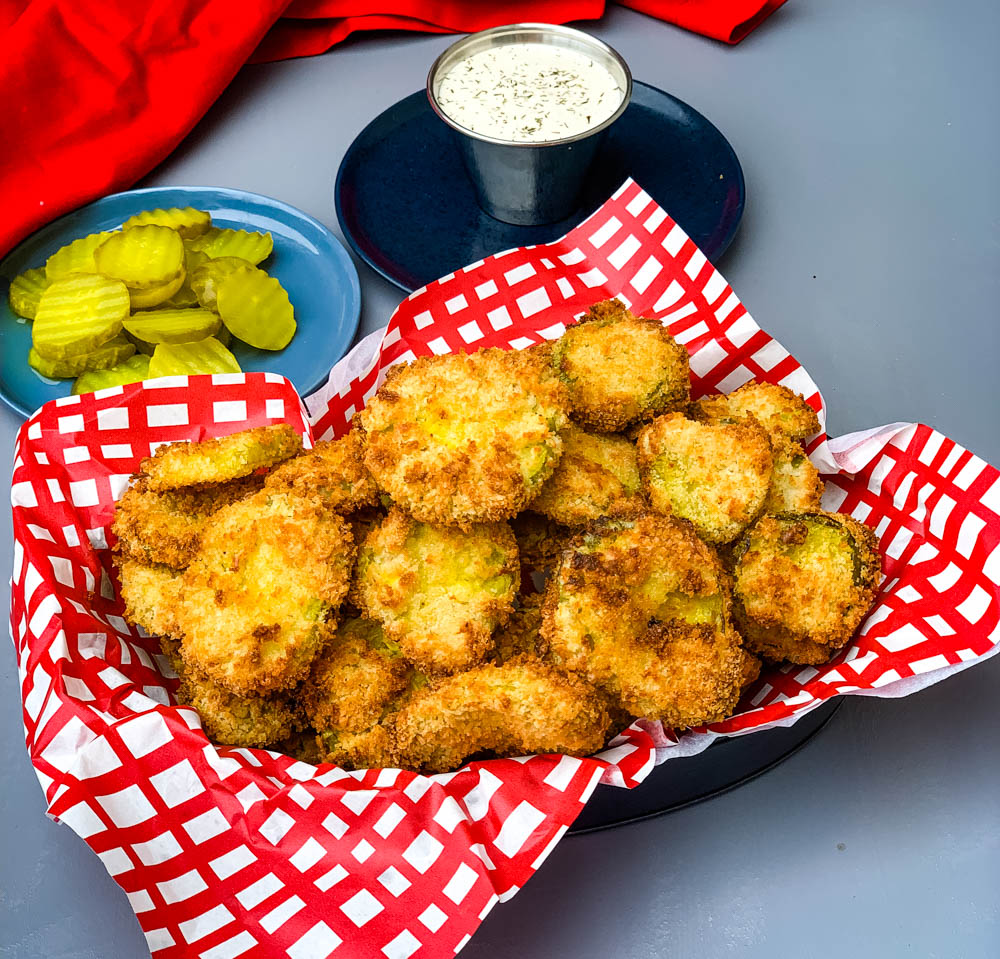 Air Fryer Crunchy Fried Pickles