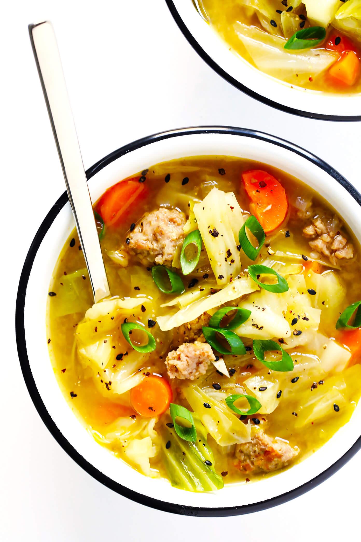 Egg Roll Soup