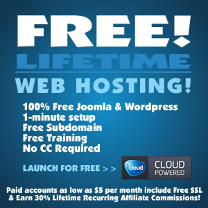 Free Lifetime Web Hosting