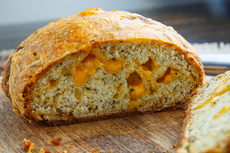 Cheddar and Rosemary Irish Soda Bread
