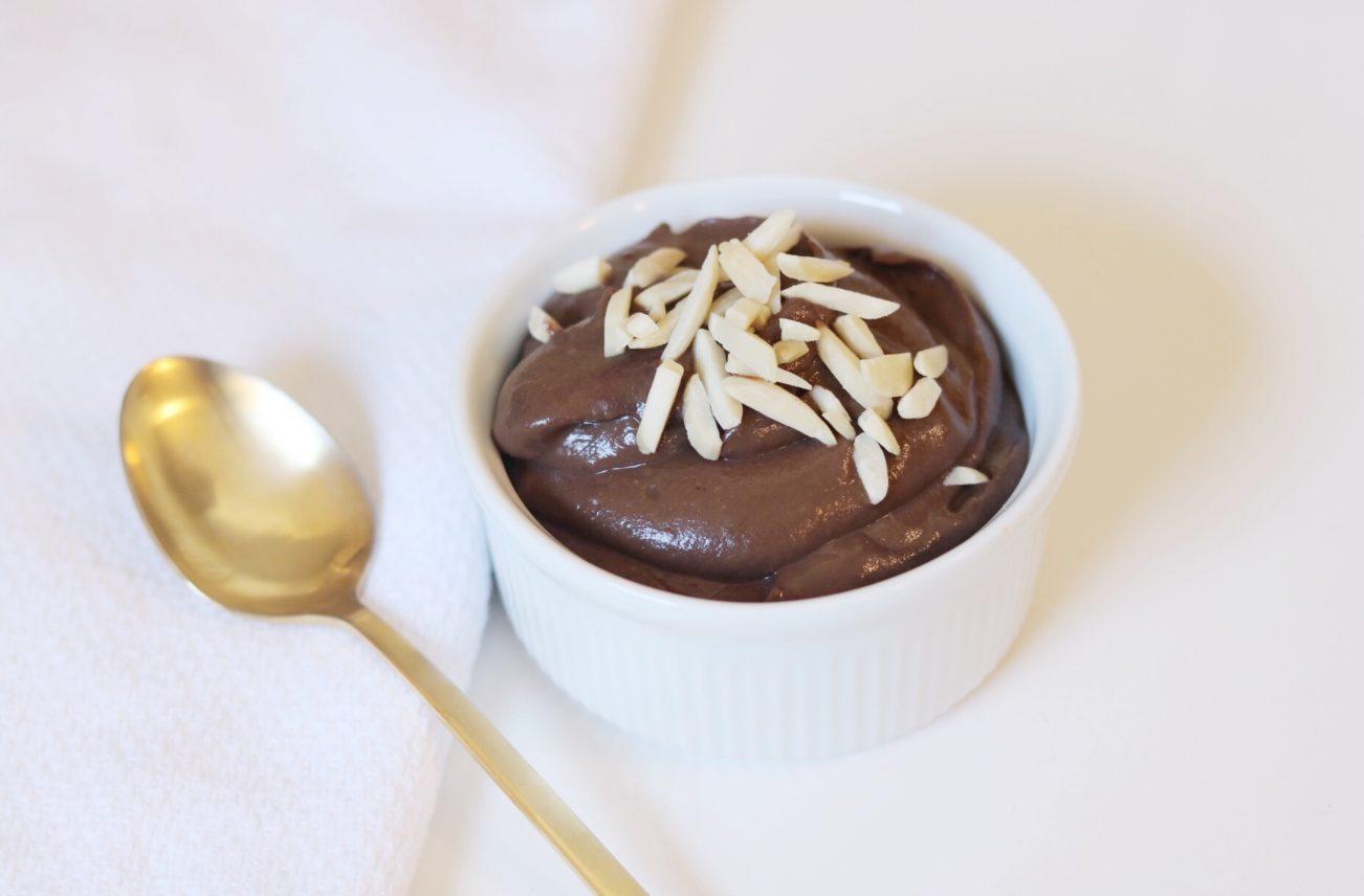 Choco-Avocado Pudding