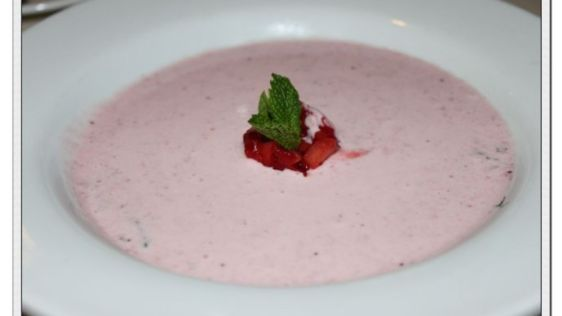 Copycat Carnival Cruises Strawberry Bisque