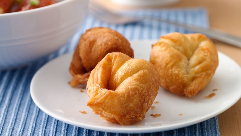 Cream Cheese-Crescent Wontons