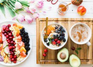 Porridge with Fruits for Breakfast