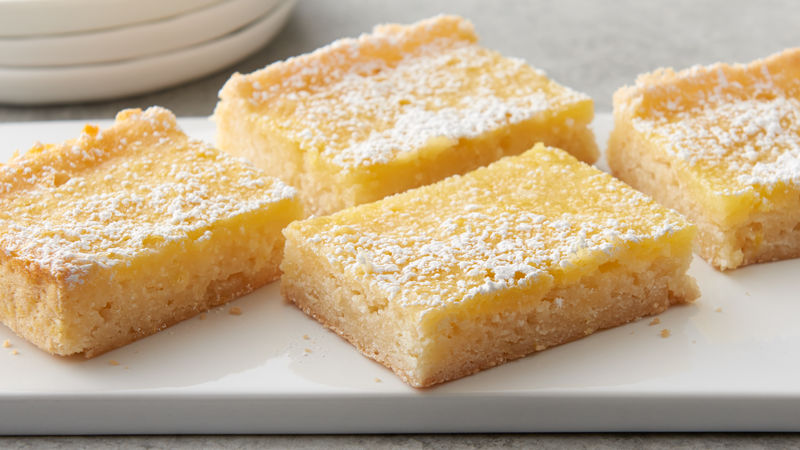 5-Ingredient Lemon Bars