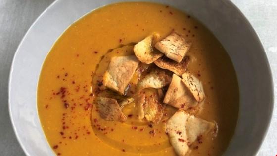 Instant Pot Lebanese Lentil Soup