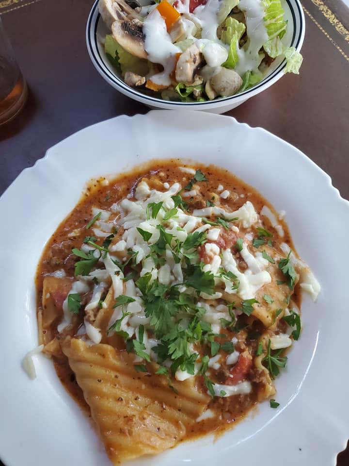 Ninja Foodi Lazy Lasagna