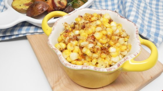 Pan-Fried Sweet Corn