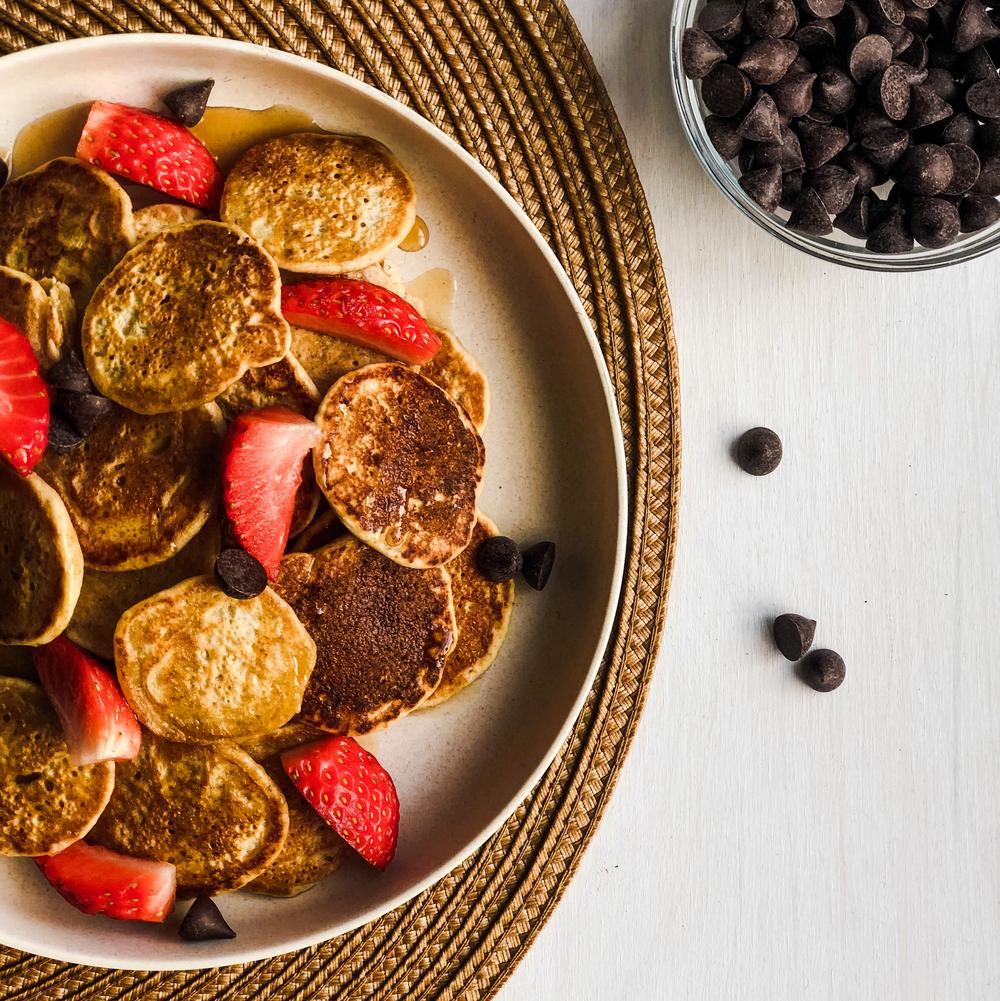Mini Maple & Vanilla Pancakes